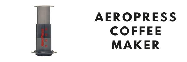 Aeropress Coffee Maker Header