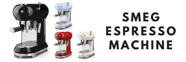 Smeg Espresso Machine Header