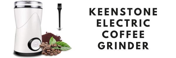 Keenstone Electric Coffee Bean Grinder
